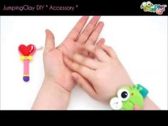 Jumping Clay Tutorial - How to make a Magic Stick and Necklace 1 of 5 amazing items in the DIY Accessory set.