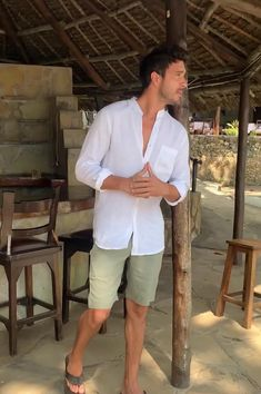 Summer Outfits Men, Stylish Mens Outfits, Beach Outfit For Men, Men Party Outfit, Men's Beach Outfits, Men's Summer Clothes, Men's Casual Outfits, Men Summer Fashion, Classy Mens Fashion