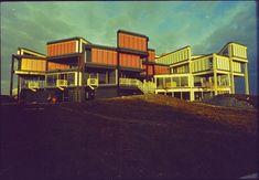 L'école d'architecture de Nanterre par Jacques Kalisz et Roger Salem (1970-71), la combinatoire pour une pédagogie flexible