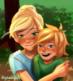 Natalie and Magnus Chase