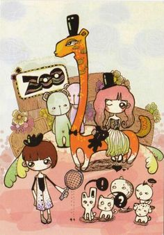 Zoo (China) Postcards, Peanuts Comics, China, Art, Art Background, Kunst, Performing Arts, Porcelain, Greeting Card