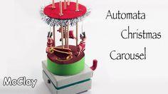 Automata Christmas Reindeer Carousel - Video collaboration with Francesc...