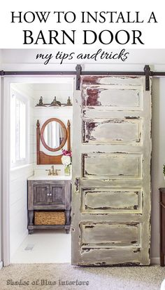 How to Install a Barn Door.