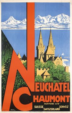 Basel Switzerland 1937 Vintage Style Travel Poster 20x30