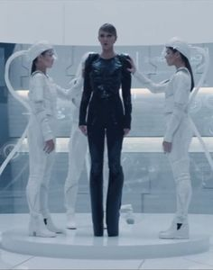 Taylor Swift's Bad Blood Music Video style.