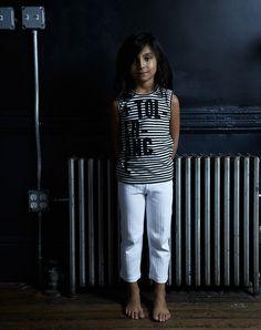 GOAT-MILK kidware   100% organic cotton basics   girl's thermal short