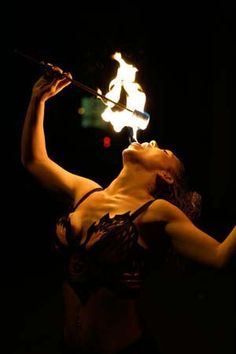 For entertainment at our upcoming tattoo convention we will be having fire breathers!!