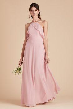 d77c4359f1 Birdy Grey Bridesmaid Dress Under  100 - Jules Dress - Dusty Rose - Pink -  Lightweight