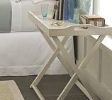 Lachlan tray table from Pottery Barn.