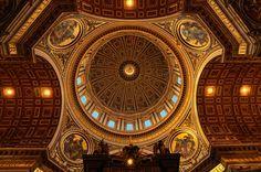 Roma, Basilica di S. Pietro - by Sabin Uivarosan, via 500px