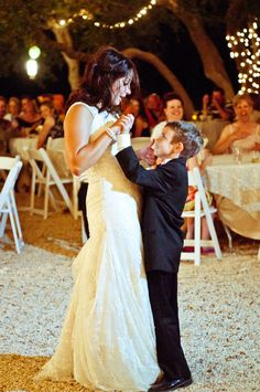 Mother and son dance.. so sweet! One day!