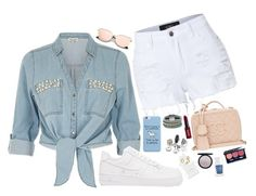 """""""Untitled #726"""" by cupcakes077 ❤ liked on Polyvore featuring LE3NO, ZAK, NIKE, Design Lab, Marc Jacobs, Vapour Organic Beauty, The Hand & Foot Spa, Chanel and NYX"""