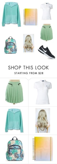 """September"" by mia-evergreen on Polyvore featuring Versace, Polo Ralph Lauren, Gap, Vera Bradley, ban.do, NIKE and BackToSchool"