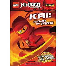 Buy LEGO Ninjago: Kai: Ninja of Fire (Chapter Book) by Greg Farshtey at Mighty Ape NZ. Masters of Spinjitzu: a new force to save the world! Will Kai be the greatest warrior ever known? Maybe, if he ever listens to Sensei Wu long enough t. Ninjago Kai, Lego Ninjago, Free Books, Good Books, Lego Club, Great Warriors, Chapter Books, Paperback Books, Book Series