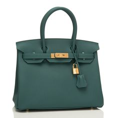 Hermes Malachite Togo Birkin 30cm Gold Hardware | AVAILABLE NOW For purchase inquiries, Please Contact: Email: info@madisonavenuecouture.com I Call (212) 207-4572 I WhatsApp (917) 750-4502 Direct Message on Instagram: @madisonavenuecouture Guaranteed 100% Authentic | Worldwide Shipping | Bank Transfer or Credit Card
