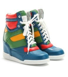 Marc by Marc Jacobs colorblock wedge sneakers
