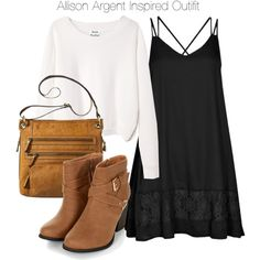 Teen Wolf - Allison Argent Inspired Outfit by staystronng on Polyvore featuring Boohoo, Acne Studios and Bueno