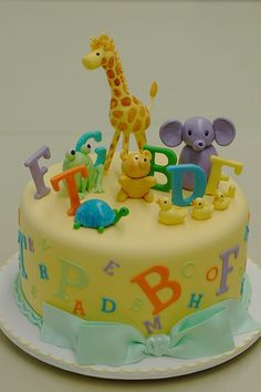 1000 images about abc cakes on pinterest alphabet cake for Abc cake decoration