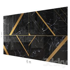 models: Other decorative objects - Decorative wall Tv Wall Decor, Wall Decals For Bedroom, Wall Cladding Designs, Villas, Shoe Store Design, Wall Panel Design, Home Goods Decor, Marble Wall, Geometric Wall
