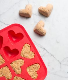 No-Bake Dog Treats: Sweet Potato, Peanut Butter & Oats | 17 Apart