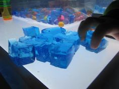 squishy cubes and beads