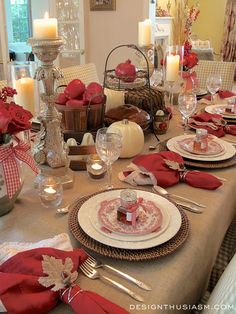 This is a very simple project that really dresses up a Fall table. I was looking to add some autumnal elements to my table setting without going out and purchasing a full set of napkin rings that could only be used this time of year. I like to change it up for every dinner party …