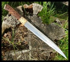 Image detail for -Handmade Viking Knives Seax (Sax) Knives Jake Cleland