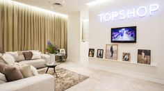 Topshop personal shopping suite | Source: Courtesy