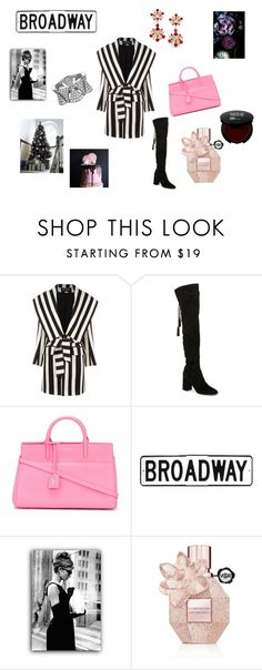 """Bobo"" by maria-chamourlidou ❤ liked on Polyvore featuring Balmain, Dolce&Gabbana, Yves Saint Laurent, Therapy and Viktor & Rolf"