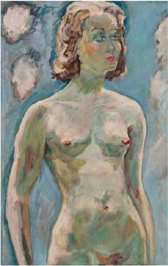 Kees van Dongen - Standing Nude
