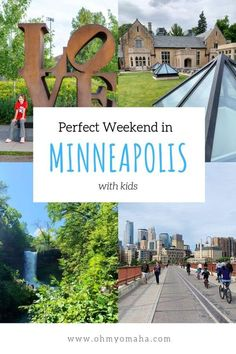 Minneapolis With Kids: A Perfect Weekend Itinerary for Minneapolis - Oh My! Omaha - How to spend a perfect weekend in Minneapolis with kids – Here's a weekend itinerary for - Summer Vacation Style, Summer Travel, Summer Vacations, Family Vacation Spots, Family Travel, Vacation Ideas, Family Vacations, Minneapolis Hotels, Minneapolis Minnesota