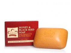 Honey and Black Seed Bar Soap - Our unique soap blended with moisturizing Wild Honey, nutrient-rich Black Seed Oil and Apricot Oil gently cleanses and exfoliates while smoothing and hydrating skin. Organic Shea Butter, rich in essential vitamins and fatty acids, helps to condition and smooth minor skin imperfections. #face #skin #organic #ecoorganicgoods