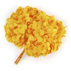 Preserved Hydrangeas - Yellow - 45 Stems - Sam's Club