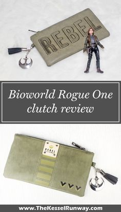 Bioworld x Star Wars Rogue One Jyn Erso themed Rebel debossed clutch review ⭐️ Star Wars fashion ⭐️ Geek Fashion ⭐️ Star Wars Style ⭐️ Geek Chic ⭐️
