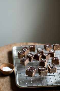 salt-kissed peanut butter and chocolate fudge by TheSophisticatedGourmet, via Flickr