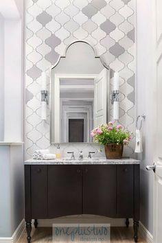 Top Bathroom Design Trends for 2018 - These top 10 bathroom design trends are set to be hot for If you are thinking about a bathroo - Top Bathroom Design, Traditional Bathroom, Bathroom Furniture, Trendy Bathroom, Bathroom Trends, Owl Bathroom, Bathroom Design Trends, Painting Bathroom, Powder Room Vanity