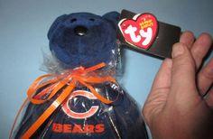TY Beanie Baby  NFL Football Bear - CHICAGO BEARS -8.5 inch NEW W-Tags Plush Toy #Ty #beaniebabie #ChicagoBears #plushtoy #NFL #toys #kids #children www.ebay.com/...