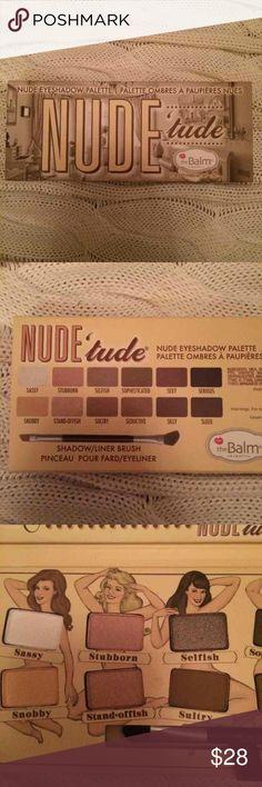 Nude'tude eyeshadow palatte Brand new, never used Makeup Eyeshadow