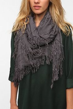 Deena & Ozzy Shredded Square Scarf from Urban. Yes please!