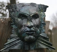 ... astral warrior ... by origami joel ... as seen at his | flickr photostream ...