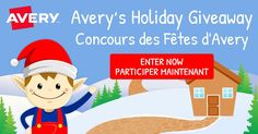 Contest closes Dec 24th, 2017. 11:59:59 PM EST http://contest.avery.ca/27jmtm/jqkl14 enter to win