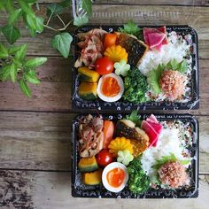 Japanese Lunch, Japanese Food, Food N, Food And Drink, Sushi Food, Bento Recipes, Food Obsession, Bento Box Lunch, Cute Food