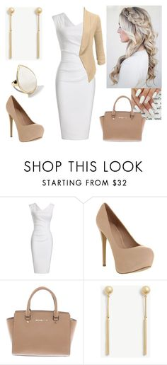 """""""WorkWear"""" by paoladouka on Polyvore featuring Office, Michael Kors, Ann Taylor, Ippolita and LE3NO"""