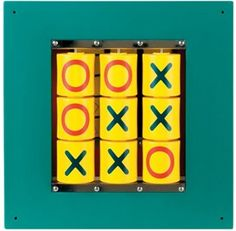 The Anatex Tic Tac Toe Wall Panel Toy features this timeless classis game. It's an educational and fun addition to any waiting area. Designed to be mounted on the wall so it won't take up a lot of flo                                                                                                                                                     More