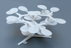 Familien-Stammbaum aus dem 3D-Drucker