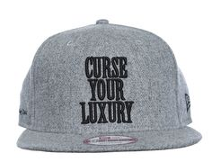 Curse Snapback Cap by PLAY CLOTHS x NEW ERA