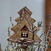 Prodané zboží od lavender | Fler.cz Polymer Clay Owl, Homemade Clay, Art For Kids, Gingerbread, Lavender, Clock, Pottery, Christmas Ornaments, Holiday Decor