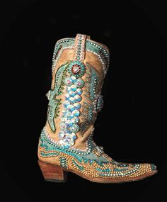 Paradise bling boots
