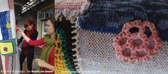 Green with Envy: Yarn Bombing at the Pop Up Shop North Sydney