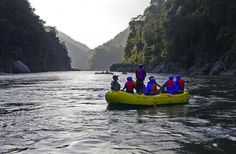 Rafting in Bhutan.  Join us and discover this kingdom's measure of prosperity: Gross National Happiness!
